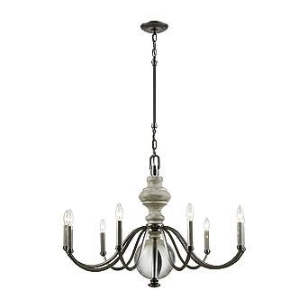 elk lighting 32314 9 neo classica nine light chandelier aged rh amazon com