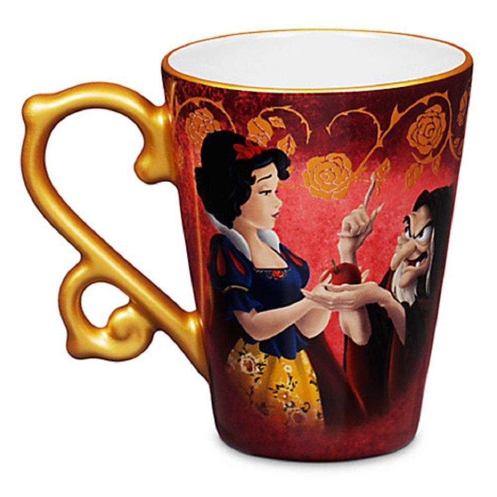 Amazon aladdin coffee mugs - Amazon Com Snow White And Evil Queen As Hag Fairytale Mug Disney Store Designer Collection Kitchen Dining