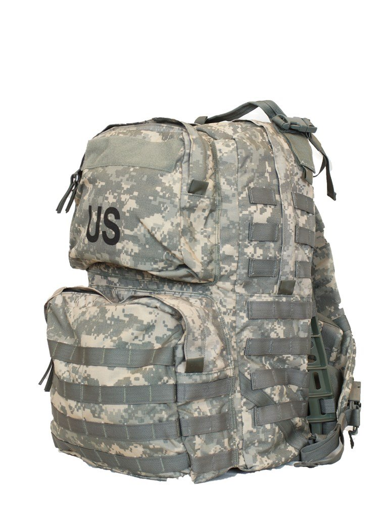 Amazon.com: GI MOLLE Rucksack With Frame Medium NSN 8465-01-f00-8677 ...