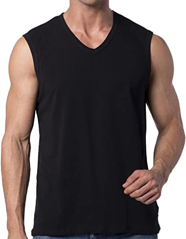 Y2y2 Men S Sleeveless V Neck T Shirt At Amazon Men S Clothing Store