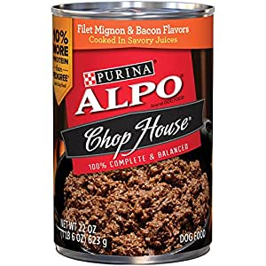 Amazon.com : Purina ALPO Chop House Filet Mignon & Bacon