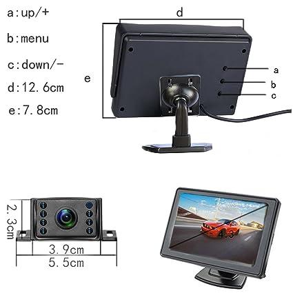 Amazon.com: podofo Kit de cámara de copia de seguridad ...