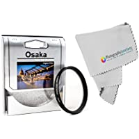 Osaka 67mm Circular Polarizer Filter + Free Photography Junction Premium Micro Fiber Cloth for Nikon 18-70mm/18-140mm/18-105mm/18-135mm
