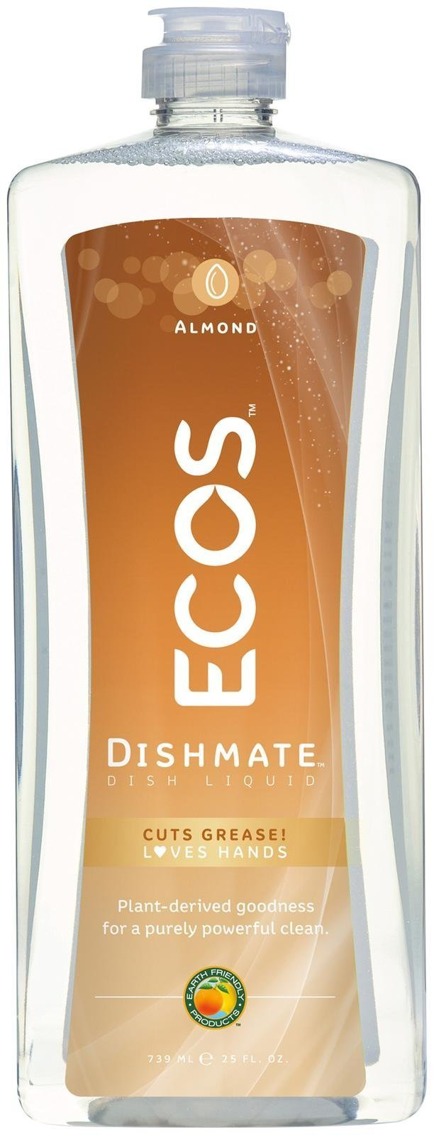 Dishmate Dish Liquid with Natural Almond, 25 Ounce