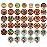 k cup 1 2 caf - Custom Variety Pack Decaf Flavored Coffee Single Serve Cup for Keurig K cup – 40 Count