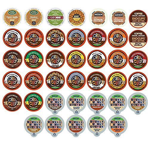 Custom Variety Pack Decaf Flavored Coffee Unmarried Serve Cup for Keurig K cup – 40 Count