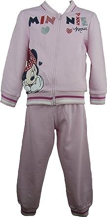 Disney Minnie Mouse Niñas Chándal rosa pálido- 3 Años / 98 cm ...