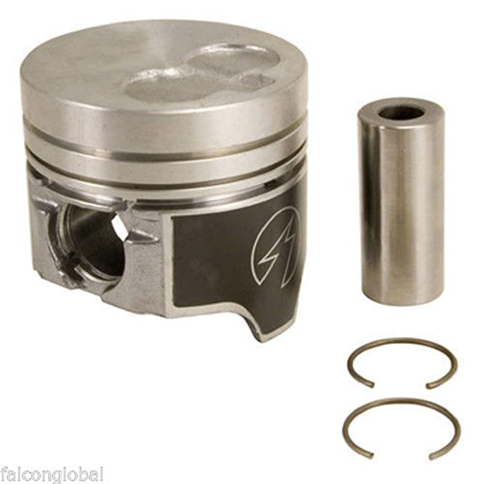 Chevy 6.2 6.2L Diesel Sealed Power Coated Skirt Piston Set of 8 1982-93 STD .020 Bore