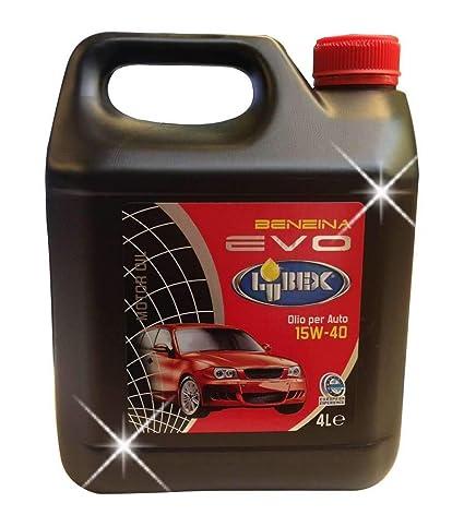 Aceite para coche Evo Gasolina - 4L 15 W 40: Amazon.es ...