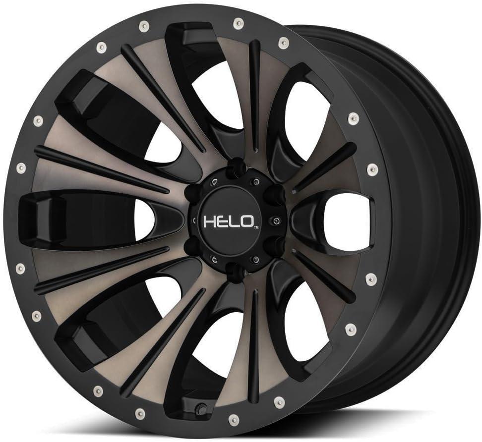 HELO HE901 Satin Black Dark Tint Wheel Chromium 20 Inch Rims
