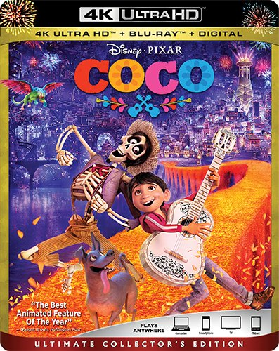 COCO [Blu-ray] (Bilingual)