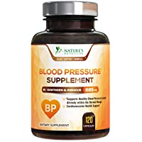 Blood Pressure Support Supplement Extra Strength Heart Aid 685mg - Heart Health...