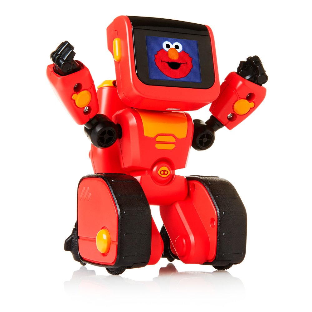 WowWee Elmoji Junior Coding Robot Toy, Red by WowWee (Image #3)