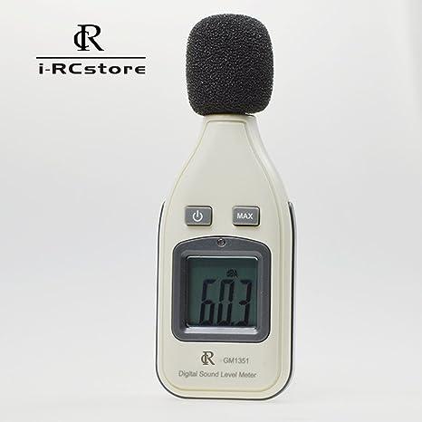 RC Professional Decibel Meter/Sound Level Reader(Basic,White)