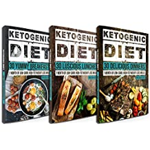 Low Carb: 90 Delicious Ketogenic Diet Recipes: 30 Days of Breakfast, Lunch & Dinner + FREE GIFT! (Ketogenic Cookbook, High Fat Low Carb, Keto Diet, Weight Loss, Epilepsy, Diabetes)