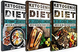 Low Carb: 90 Delicious Ketogenic Diet Recipes: 30 Days of ...