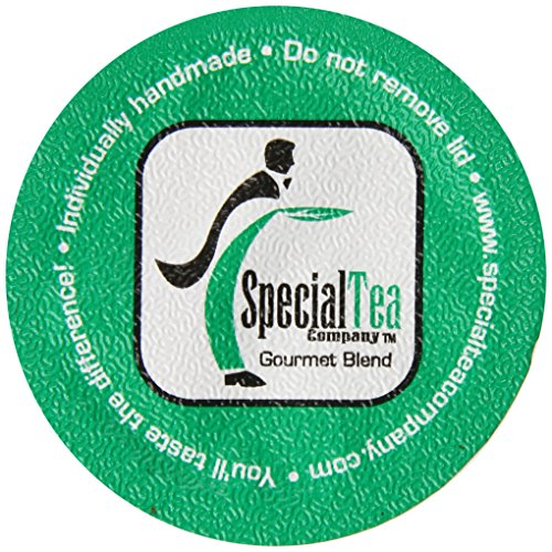 Special Tea Single Serve Cup, Detox Supreme without Caffeine Herbal Tea, 10 Count (Keurig Detox Tea)