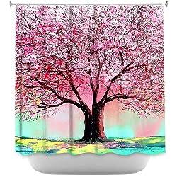Shower Curtain Artistic Designer from DiaNoche Designs
