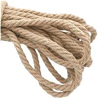 Cuerda gruesa y resistente de yute natural