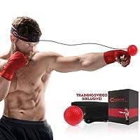 Champs Boxing Reflex Ball Kampftraining Geschwindigkeit Exclusive Training Video. Grundlegende Kampfkünste erlernen, Gewicht verlieren, Reaktionsgeschwindigkeit beschleunigen, Fitness, Selbstvertrauen Cardio