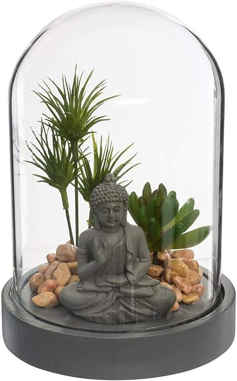 Atmosphera – Jardín Zen bajo Campana H 20 cm, Jardin/Zen, cm: Amazon.es: Hogar