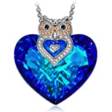 J.NINA Necklace Jewelry, ♥Exquisite Package Owl...
