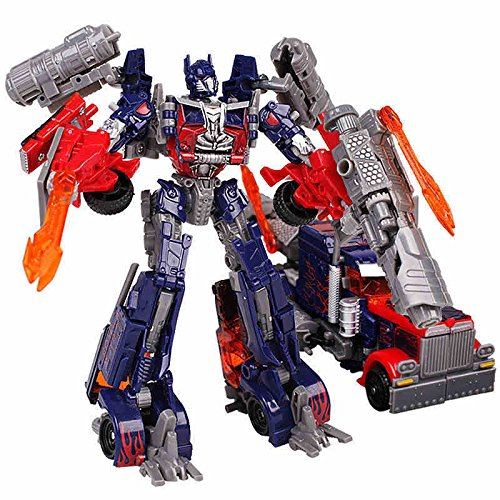 [NEW ACTION FIGURE Transformers 3 Voyager Leader Class Optimus Prime justice] (Arcee Prime Costume)