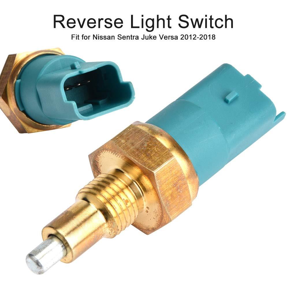 8200177718,EBTOOLS Car Reverse Light Switches,Plastic Gold /& Green Reverse Light Switch for Sentra Juke Versa 2012-2018 8200177718