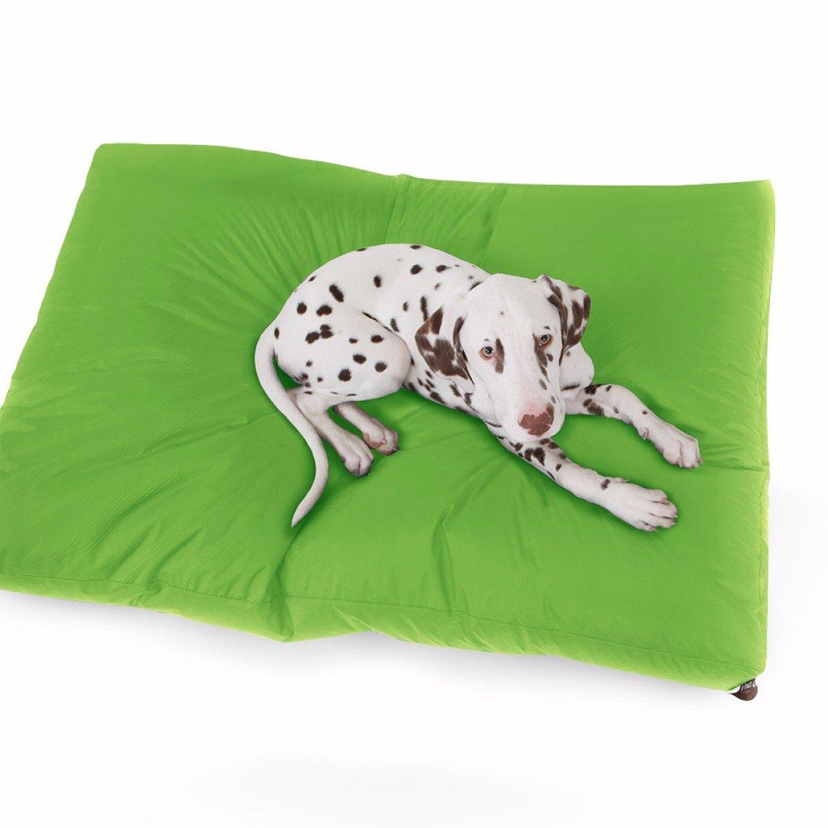 Rucomfy Bean Bag Trend - Cama para Mascotas, Color Verde Lima, 120 cm x 100 cm x 15 cm: Amazon.es: Hogar