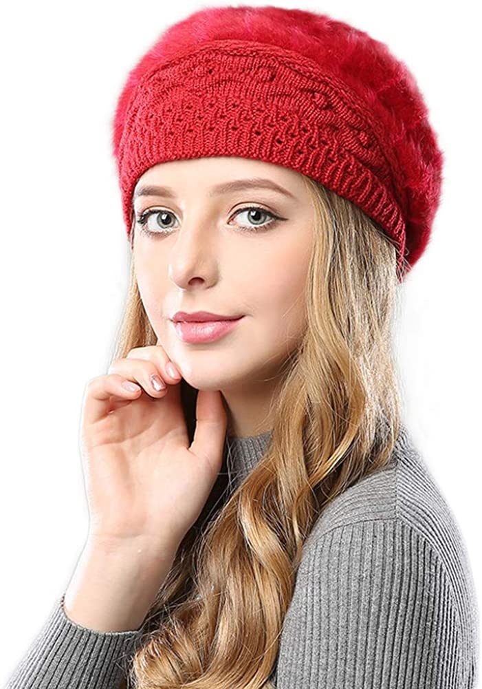 Women Winter French Beret...