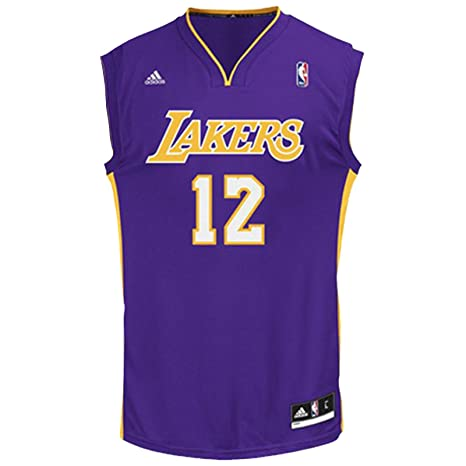 Adidas - Camiseta de baloncesto de LA Lakers NBA # 12 Howard L88184 - Blanco /
