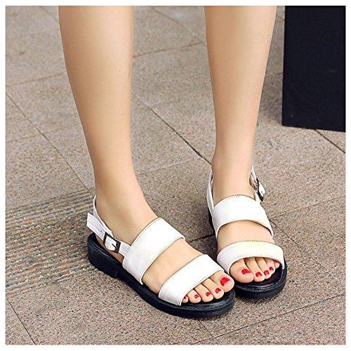 White Para Tacon Coolcept Mujer Bajo Zapatos de wcq1p