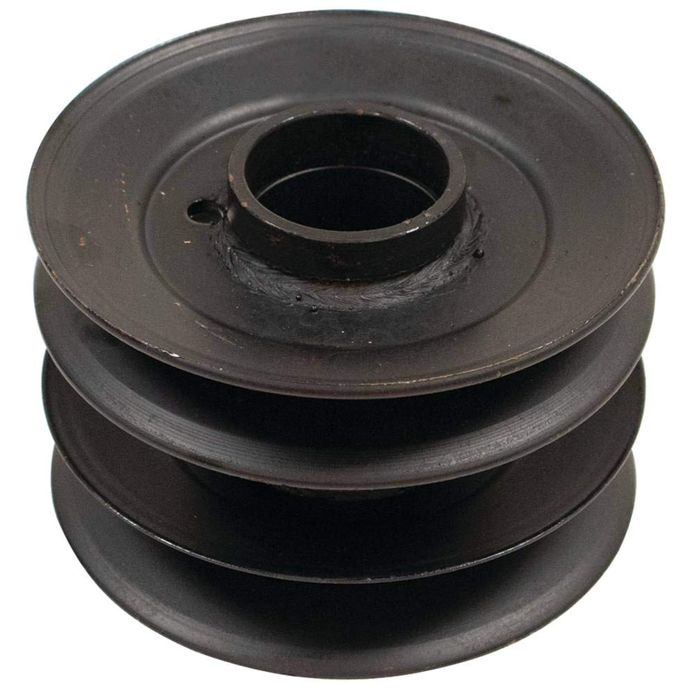 MTD 756-0638 0.625 ID 5 Width Stens 275-040 Double Spindle Pulley
