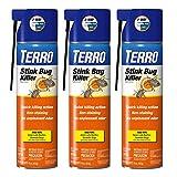 3-Pack TERRO Stink Bug Killer Aerosol Spray