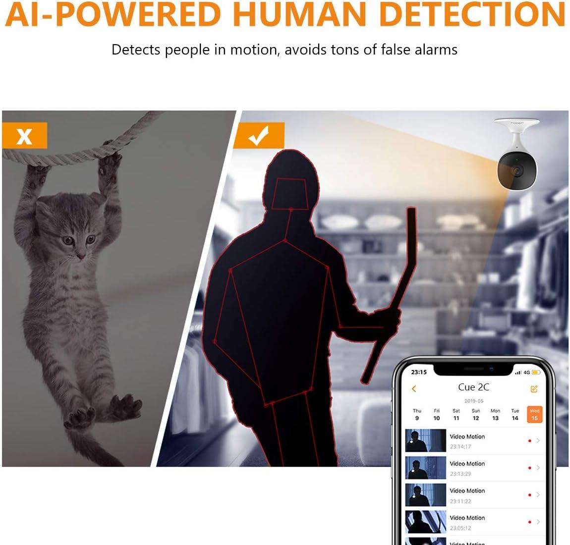 Almacenamiento en el Cloud Vigilabebes C/ámara de Vigilancia Beb/és 1080P WiFi Interior Detecci/ón Humana y de Sonido Imou Vigila Beb/és con Visi/ón Nocturna Compatible con Alexa Google