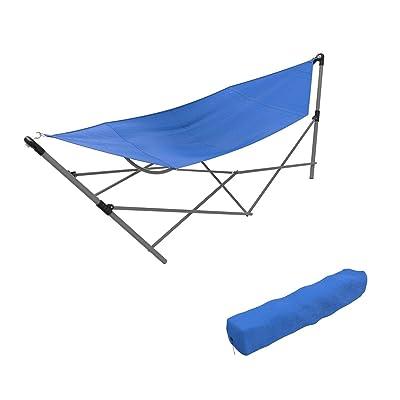 TimmyHouse BlueFoldableHammock Bed