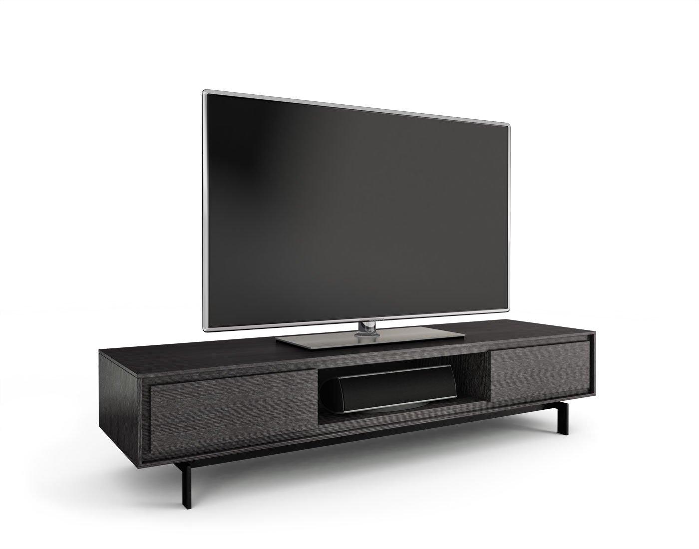 Amazon.com: BDI Signal 8323 Low Profile Triple Wide Entertainment ...