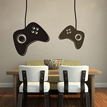 Vinyl Playstation Wall Decal Game Joystick For Kids Wall Quote Home Wall  Decor Removable Stylish Wall Part 75