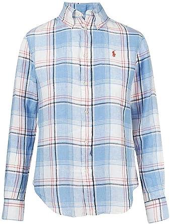 Polo Ralph Lauren camisa mujer mod. 211-798167 Multicolor: Amazon.es: Ropa y accesorios