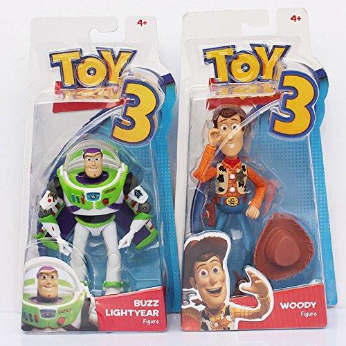 Cheap Buzz Lightyear (2PCS/Lot Toy Story Disney/Pixar 4