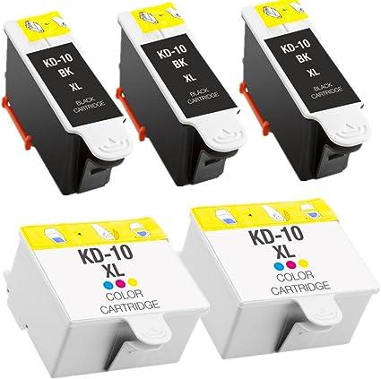 CARTUCCIA di inchiostro nero per Kodak Easy Share 5500 Stampante