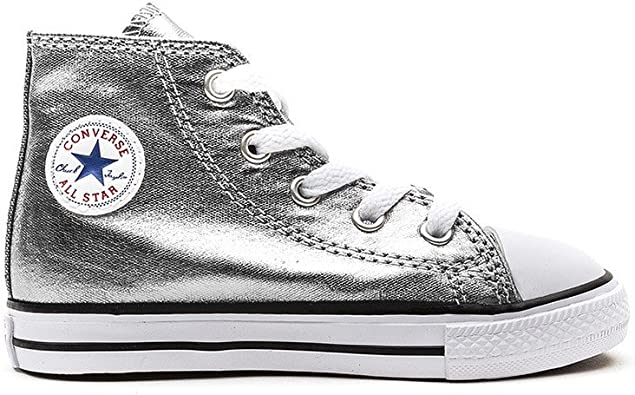 scarpe converse argento