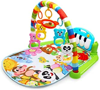 Baby Infant Play Mats Gym Musical Lullaby Toys Activity Floor Kids Music Piano