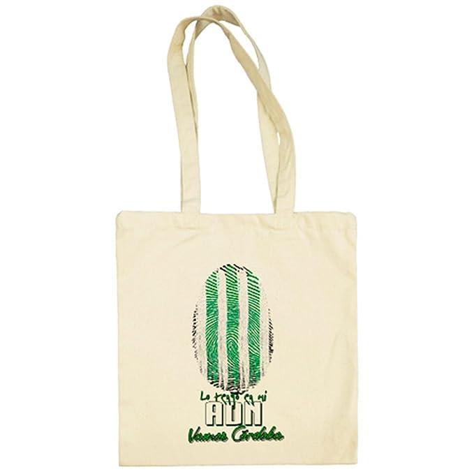 Bolsa de tela lo tengo en mi ADN Córdoba fútbol - Beige, 38 x 42 cm: Amazon.es: Ropa y accesorios