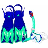 Body Glove Youth JMC Lucent Mask/Snorkel & Fin Set