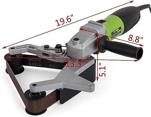 40mm Levigatrice per Tubo con 1 Nastro Abrasivo 40 x 760 mm SPTA 800W Tubo Smerigliatrice