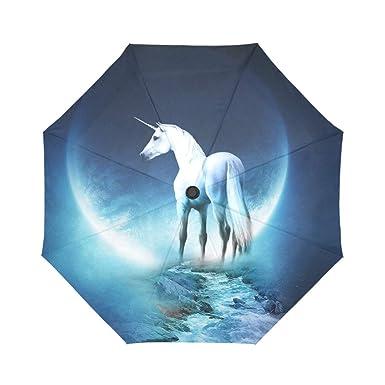 Amazon.com: Hipster Unicornio Noche de Luna en Cheap Compact ...