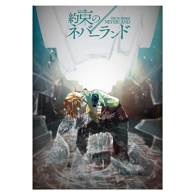 Amazon.com: Póster de Bowinr The Promised Neverland, 12.0 x ...