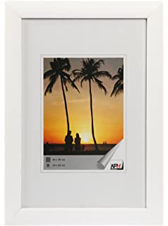 Frisch Amazon.de: Deknudt Frames S40AK1 Bilderrahmen 40x60 Basic, Weiss  HM07