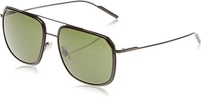 58 mm Dolce /& Gabbana Mens Metal Man Sunglass Aviator Matte Black